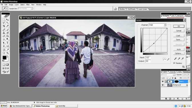 Cara membuat efek Vignette menggunakan Photoshop
